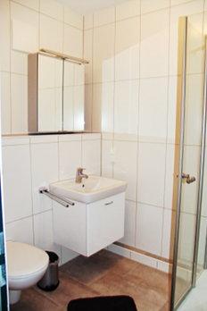 Ansicht des Badezimmers